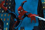 Ultimate Spider-Man Animation Still Print