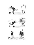 New Yorker Cartoon Premium Giclee Print by Warren Miller