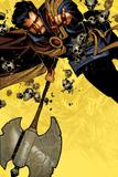 Doctor Strange 1 Cover Featuring Dr. Strange Plastskylt av Chris Bachalo