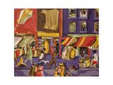 Street Scene (Boy with Kite), 1962 Pôsteres por Jacob Lawrence