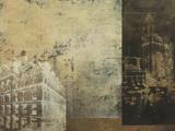 Building Plans II Giclée-tryk af  Kemp