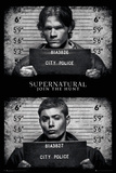 Supernatural- Mug Shots Stampa