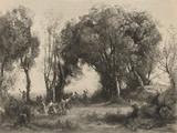The Dance of the Nymphs Reproduction procédé giclée par Jean-Baptiste-Camille Corot