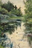 Landscape Study of Mora Giclée-tryk af Anders Zorn
