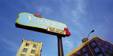 Motel on Main Street Giclee Print by Chris Simpson