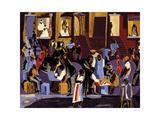 Street Shadows, 1959 Arte por Jacob Lawrence