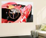 Ferrari Cockpit Monterey Watercolor Fototapete