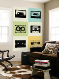 Mix Tape Poster Wall Mural by  NaxArt
