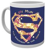 Superman Mum Greatest Mug Taza