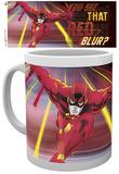 The Flash Red Blur Mug Taza