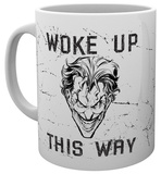 Batman Comic Joker Woke Up This Way Mug Taza