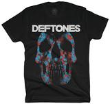 Deftones- Minerva Rose Skull Camiseta