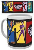 DC Comics Logo Gotham Girls Mug Taza