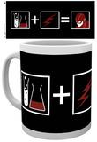 The Flash Symbols Mug Taza