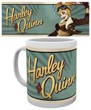DC Comics Harley Quinn Bombshells Mug Taza