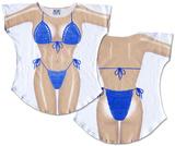 Ocean Macrame Bikini Cover-Up T-Shirts