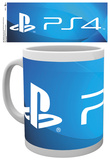 Playstation Ps4 Logo Mug Krus
