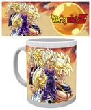 Dragonball Z Super Saiyans Mug Krus