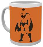 DC Comics Superman Stand Mug Taza