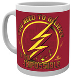 The Flash Believe Mug Taza