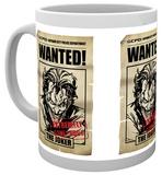 Batman Comic Joker Wanted Mug Taza