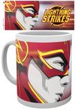 The Flash Lightning Strikes 2 Mug Taza