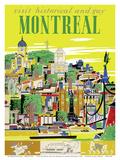 Visit Historical and Gay - Montreal, Canada Posters tekijänä Roger Couillard