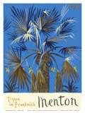 Menton - Tropen in Frankreich (Tropics in France) - Palm Tree Posters by Graham Sutherland