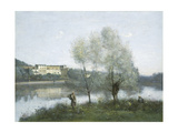 Ville D'Avray, c.1865 Giclee Print by Jean-Baptiste-Camille Corot