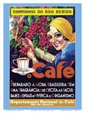 Café (Coffee) - Rio De Janeiro, Brazil Pósters