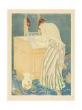 Woman Bathing, 1890-1 Giclee Print by Mary Cassatt