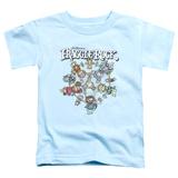 Toddler: Fraggle Rock- Spinning Gang T-shirts