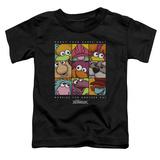 Toddler: Fraggle Rock- Squared Shirts