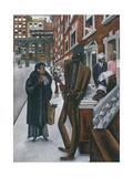 Harlem Giclee-trykk av Edward Burra