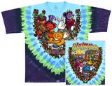 Grateful Dead- Wonderland Jamband (Front/Back) T-Shirt
