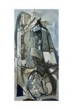 Porthleven Giclée-tryk af Peter Lanyon
