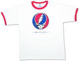 Grateful Dead- Steal Your Face Ringer T-Shirt