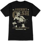 Johnny Cash- San Quentin Stars Vêtements