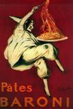 Pates Baroni Vintage Poster - Europe Plastikskilt af  Lantern Press