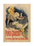 Le Punch Grassot Posters por Jules Chéret