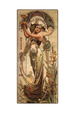 Champagne Theophile Roederer Premium Giclee-trykk av Louis-Theophile Hingre