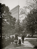 New York, N.Y., Flatiron Bldg. from Madison Square Park Foto