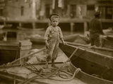 Miniature Fisherman Photo by Lewis Wickes Hine