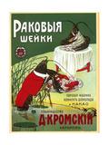 Kromsky Lobster Necks at their Steam Plant Poster