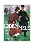 Rainwear from Mele Kunstdrucke von Leopoldo Metlicovitz