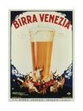 Birra Venezia Premium Giclée-tryk af  Mauzan