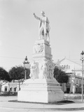 Statue of Jose Marti, Central Park, Havana, Cuba Photographie