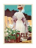 People of Status Shop at Mele Poster von Leopoldo Metlicovitz