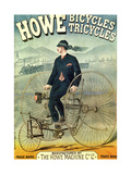 Howe, Bicycles, Tricycles Prints by F. Appel