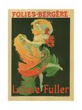 La Loie Fuller Posters por Jules Chéret